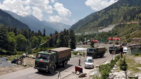China und Indien ziehen ihre Truppen von umstrittener Grenze im Himalaya ab (Archivbild)