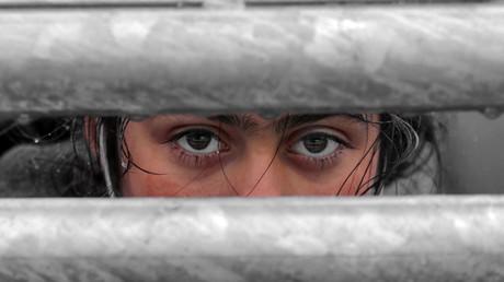 (Symbolbild). Ein Flüchtlingskind am 15. März 2020 im Lager Pazarkule an der türkisch-griechischen Grenze.