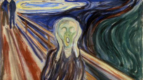 Soll es sich so anfühlen? Ausschnitt aus Edvard Munchs
