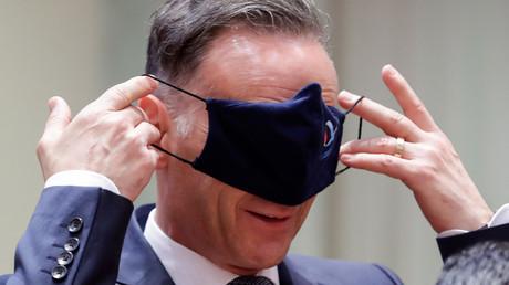 Heiko Maas beim Treffen der EU-Außenminister am Montag in Brüssel