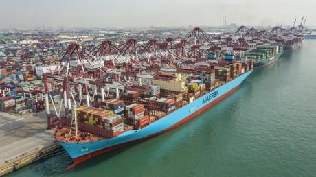 Wende nach Corona-Krise: Chinas Außenhandel legt unerwartet stark zu (Symbolbild)