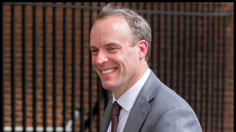 Der britische Außenminister Dominic Raab (Archivbild)