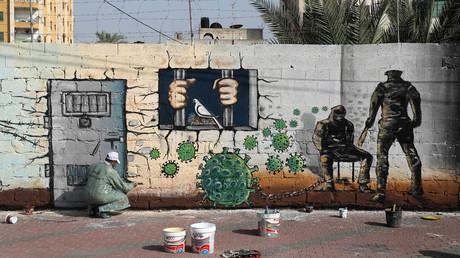 Auch in den Palästinensergebieten fürchten sich die Menschen vor der Ausbreitung des Coronavirus. (Symbolbild)