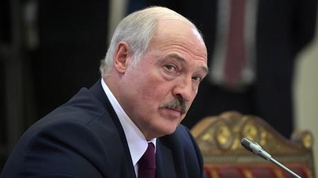 Weißrusslands Präsident droht Auslandsmedien wegen Anstachelung zu Protesten mit Lizenzentzug (Archivbild)