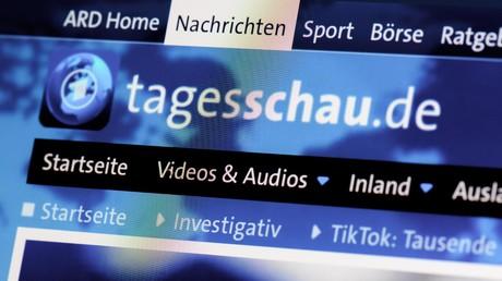 Website des einstigen ARD-Flaggschiffs