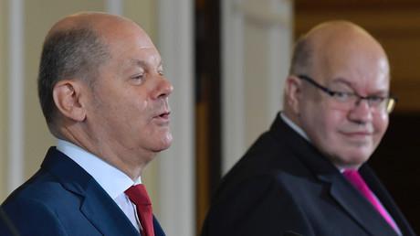 Scholz und Altmaier bei einer Pressekonferenz im Juni 2020 in Berlin