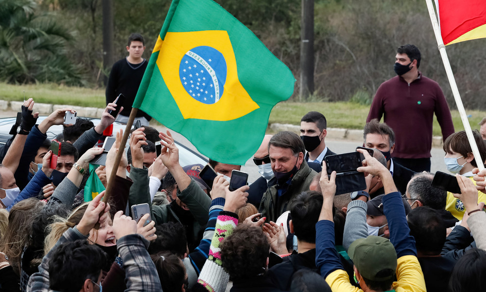 "Brasiliens Präsident Jair Bolsonaro über Coronavirus: ""Wovor haben Sie Angst?"""