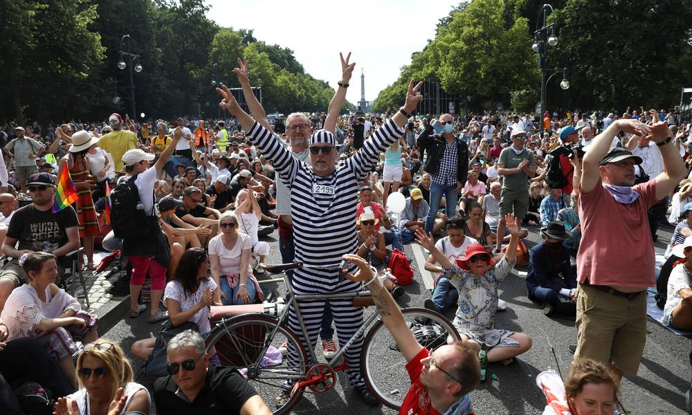 Corona-Demo in Berlin: Die Ära der postfaktischen Wahrheit