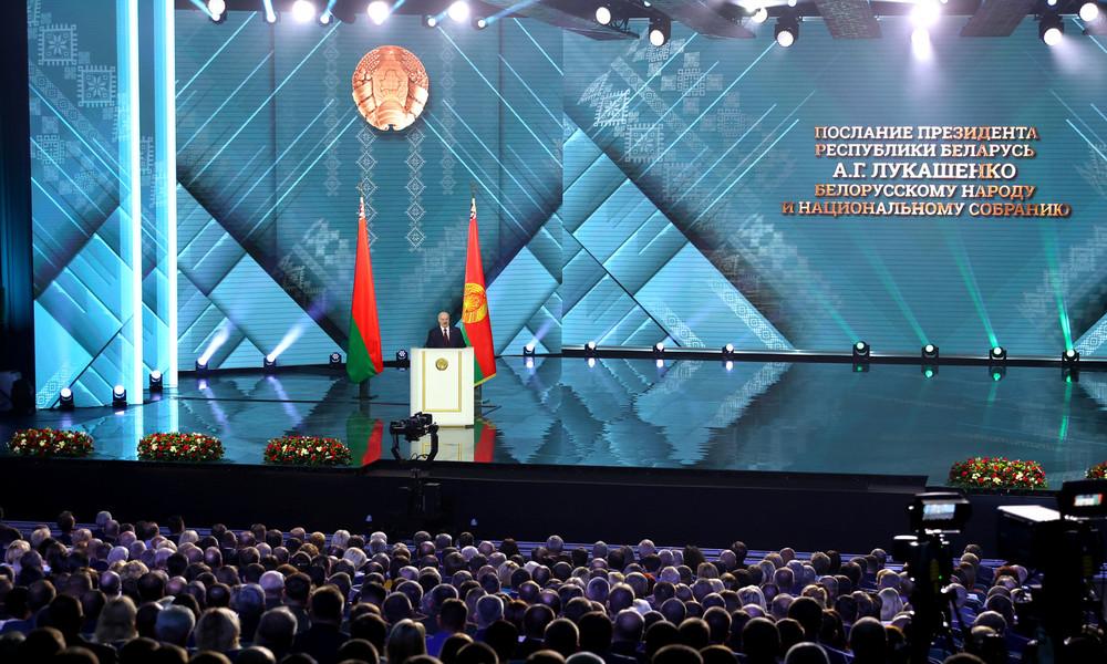"""Weißrusslands Präsident Alexander Lukaschenko: """"Russland hat Angst, uns zu verlieren"""""""
