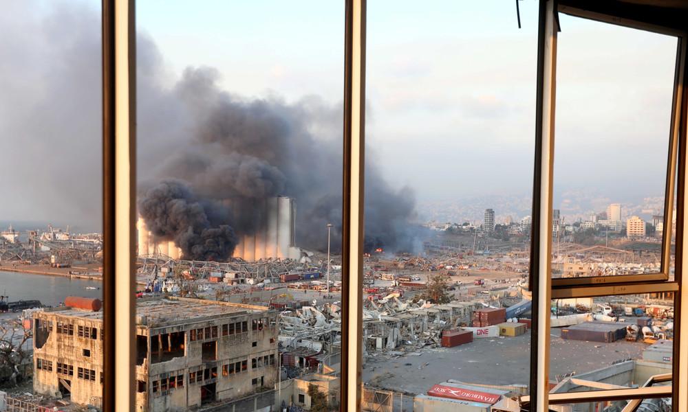 Beirut: Explosion soll sich in Lager mit beschlagnahmtem Sprengstoff ereignet haben