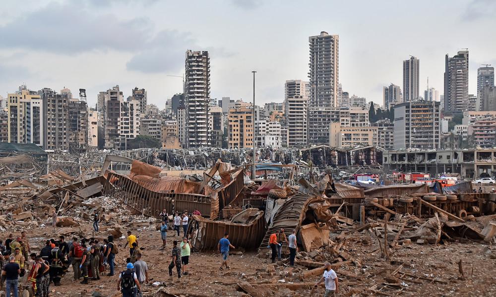 Explosionen in Beirut: Offenbar libanesischer Politiker unter den Opfern