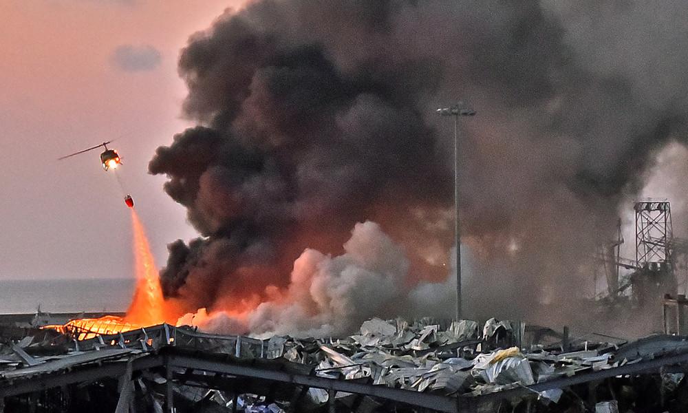 Explosionen in Beirut: Die Welt spricht dem Libanon Beileid aus