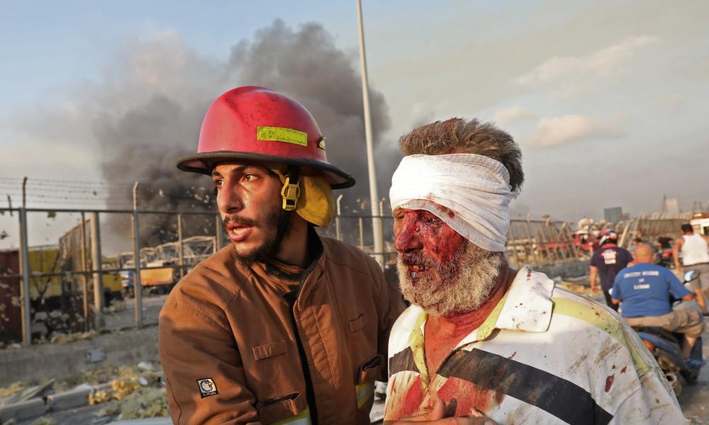"""""""Es war wie ein Erdbeben"""" – Überlebende berichten über Explosionen in Beirut"""