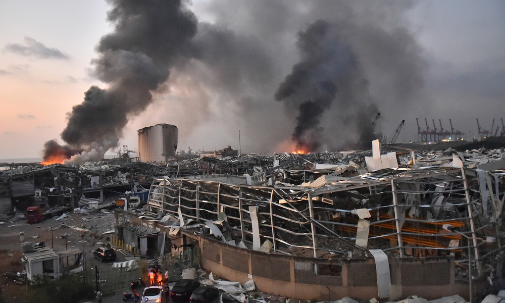 """""""Das ist eine Katastrophe"""": Mindestens 100 Tote und über 4.000 Verletzte nach Explosionen in Beirut"""