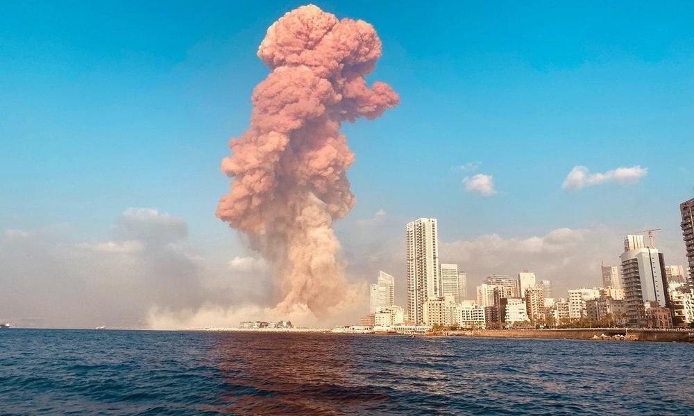 Beirut-Explosion: US-Militär vermutet einen Angriff