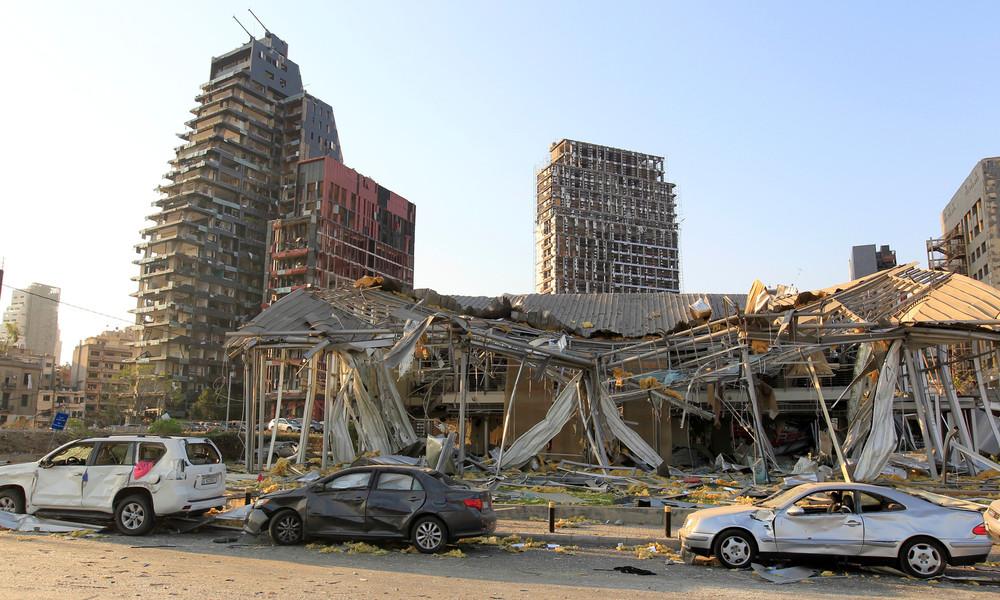 LIVE aus Beirut nach starken Explosionen am Dienstag – Kamera 2