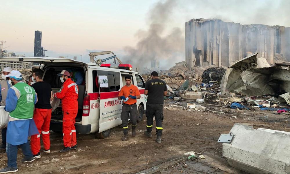 Internationale Hilfe nach Explosion im Libanon: Viele Länder schicken Helfer nach Beirut