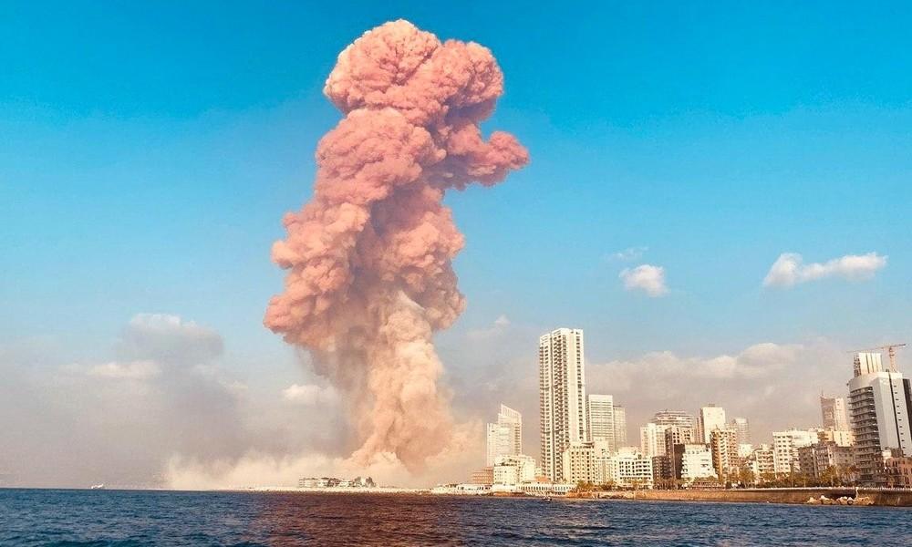 Die Katastrophe vom Beirut in Bildern