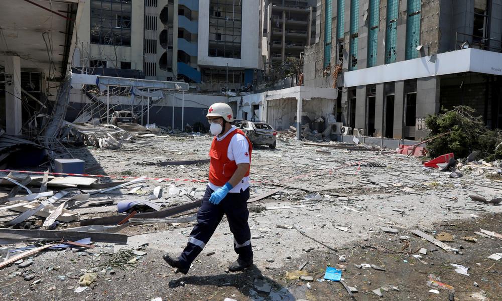 Deutschland schickt Hilfe nach Beirut: Technisches Hilfswerk und Bundeswehr im Einsatz