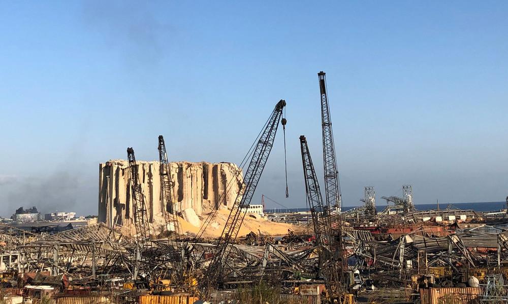LIVE:  Im Epizentrum der tödlichen Explosion im Hafen von Beirut