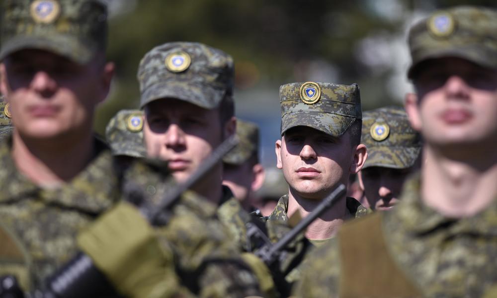 """Auswärtiges Amt zur Kosovo-Armee: """"Erkennen Recht zur Schaffung regulärer Streitkräfte an"""""""
