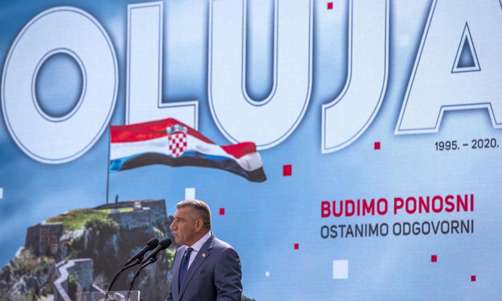 """25 Jahre Operation """"Oluja"""": Kroatien feiert Befreiung – Serbien spricht von Akt ethnischer Säuberung"""