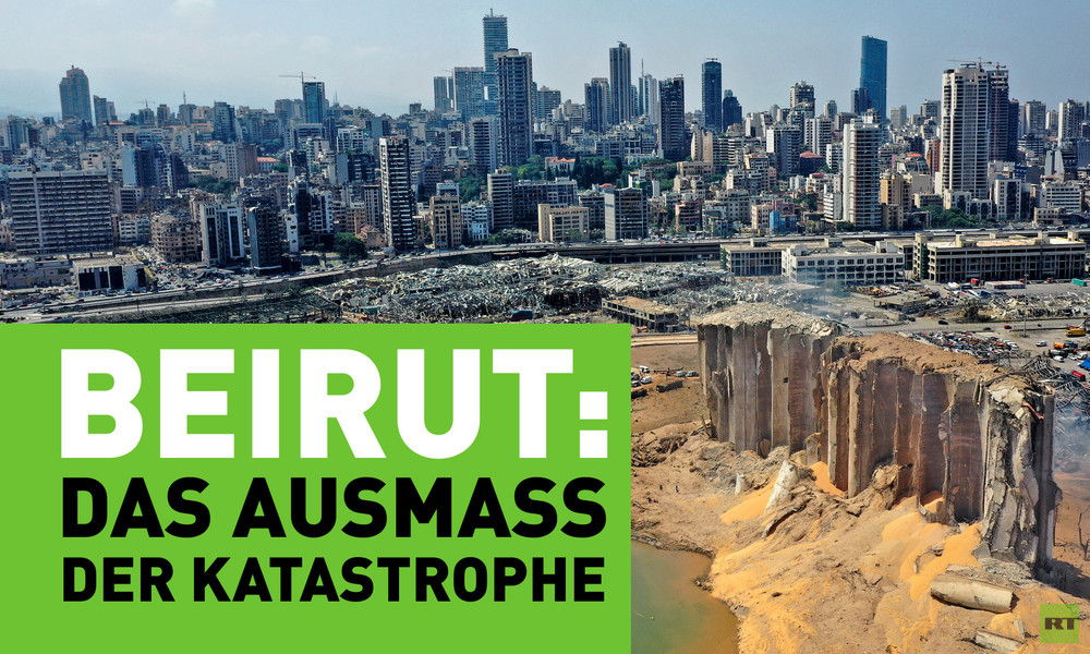 Beirut: Das Ausmaß der Katastrophe