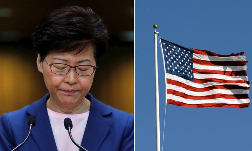 USA verhängen Sanktionen gegen Hongkongs Regierungschefin und andere chinesische Beamte
