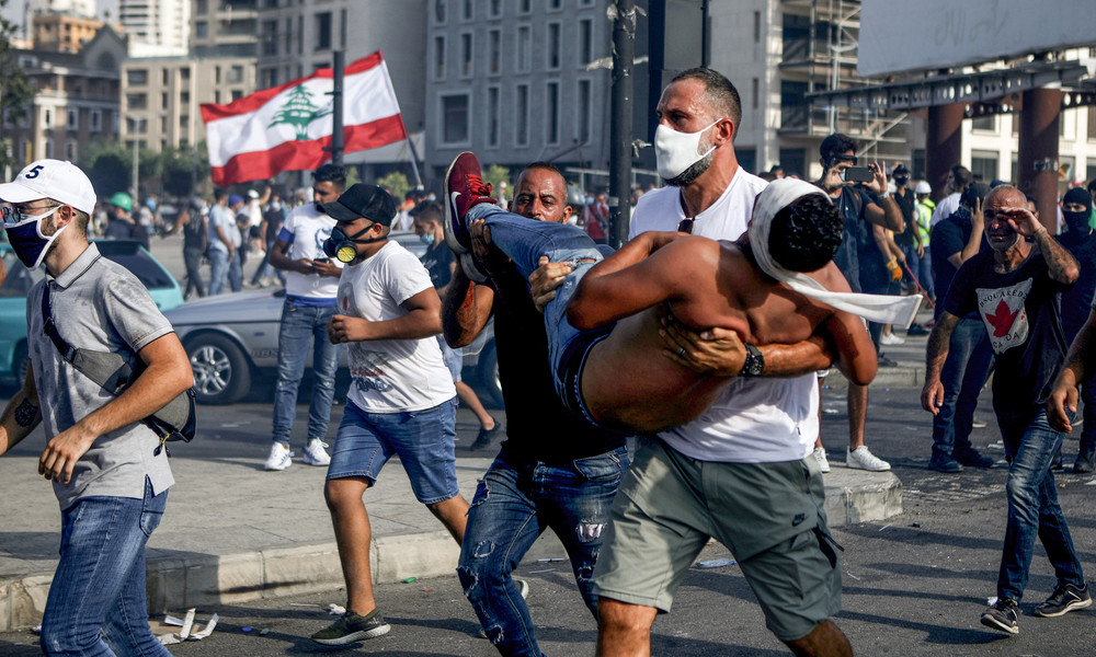 Libanon: Mehr als 100 Verletzte bei Protesten in Beirut – Libanons Premier kündigt Neuwahlen an