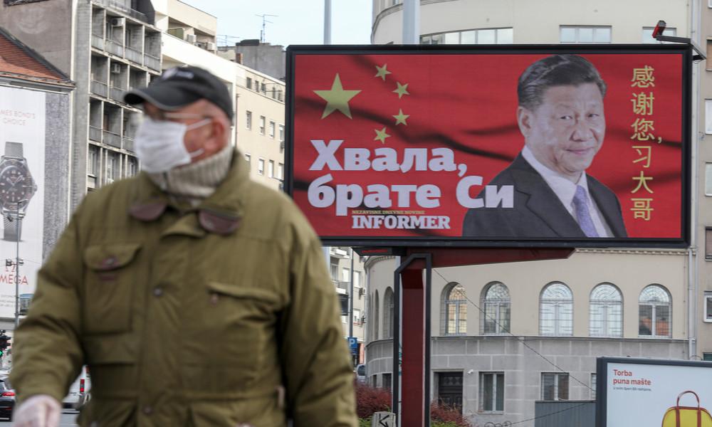 """Nervosität in Washington und Brüssel wächst: China """"wildert"""" auf dem Balkan"""