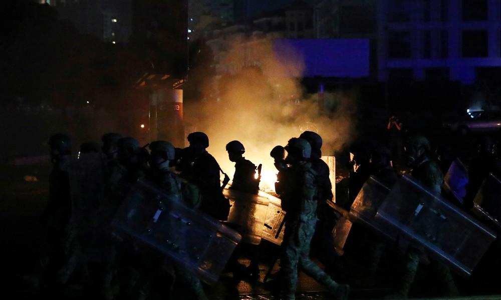 LIVE-Updates aus Beirut: Proteste vor libanesischem Parlament