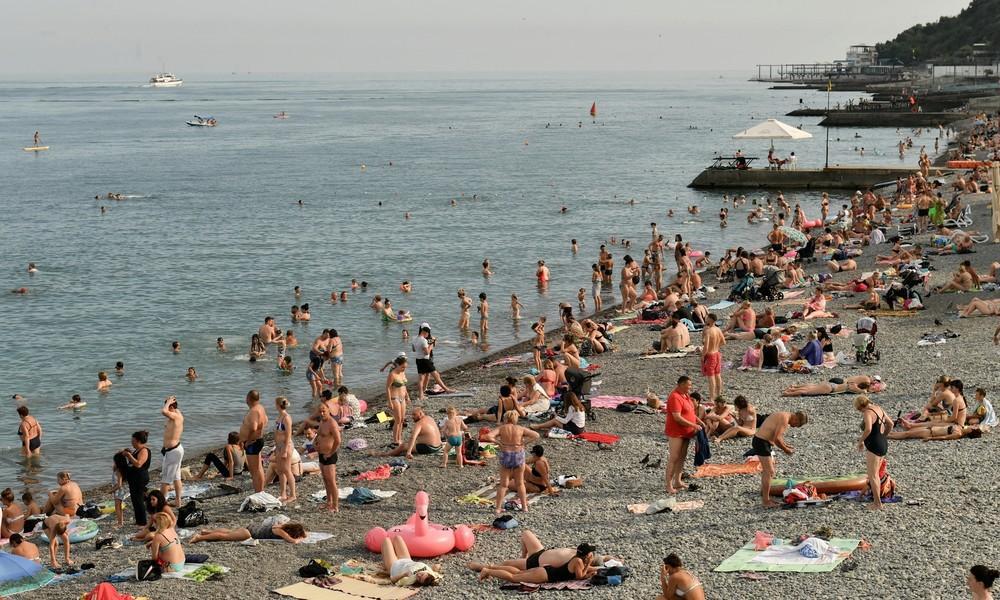 Krim: Fast 1,5 Millionen Touristen strömen auf Halbinsel nach Lockerung von Corona-Beschränkungen