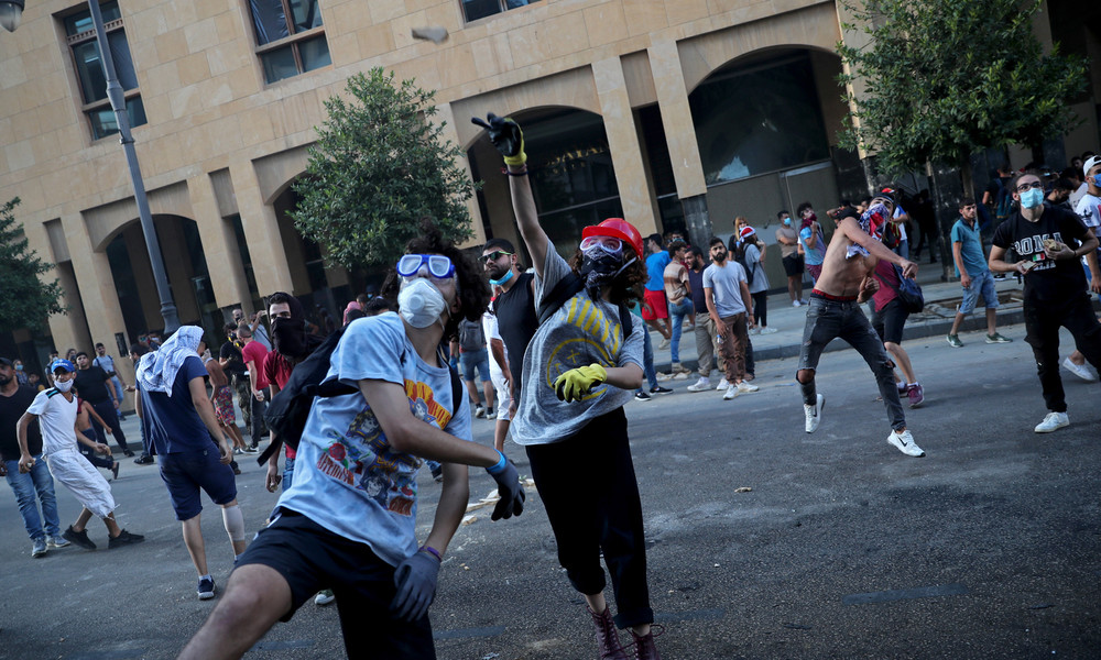 LIVE: Libanon – Erneute Proteste in Beirut nach Explosionskatastrophe