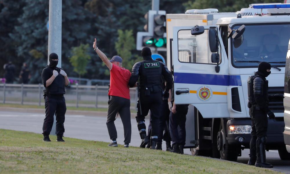 Weißrussland: Festnahmen vor neuer Protestaktion – Auch RT-Korrespondent in Minsk festgenommen