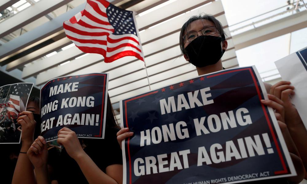 Als Vergeltung für Hongkong-Politik der USA: China verhängt Sanktionen gegen US-Senatoren