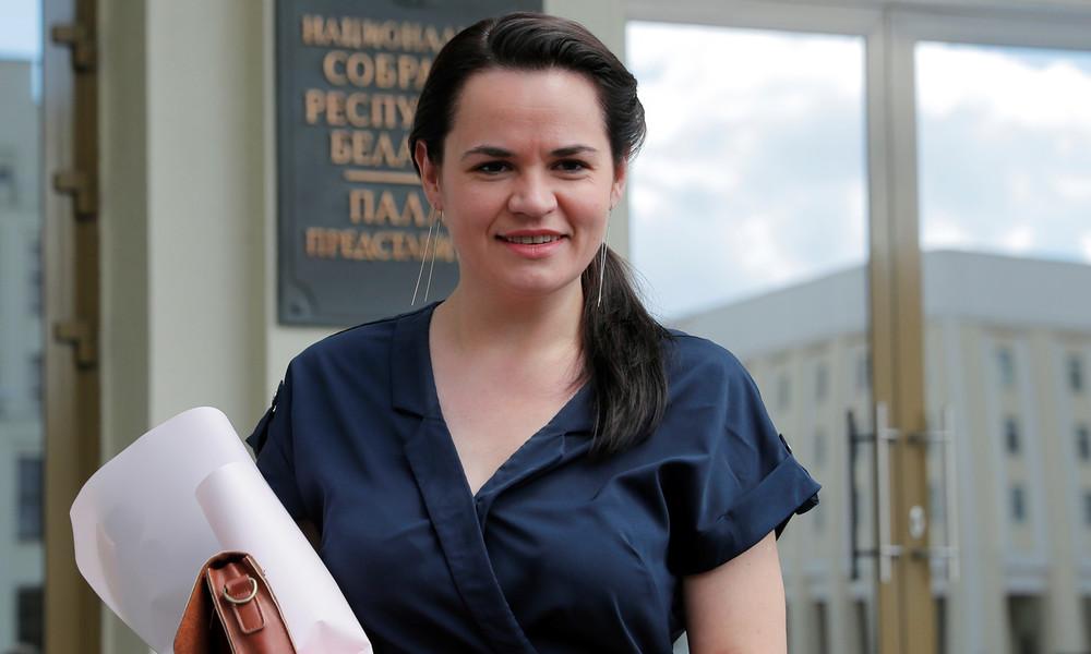 Weißrussische Oppositionsführerin Tichanowskaja setzt sich nach Litauen ab