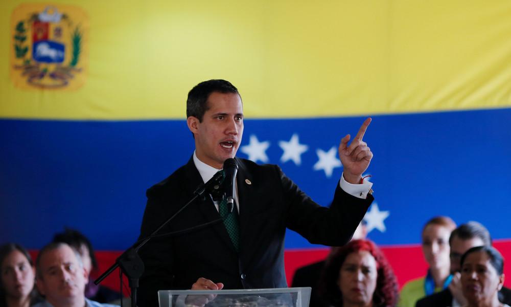 """Venezuelas """"Interimspräsident"""" Guaidó will politische Beziehungen zu Israel wiederherstellen"""
