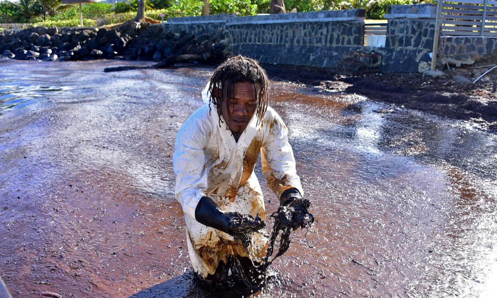 Vergessene Insel, vergessener Kontinent: Öl-Katastrophe in Mauritius kaum von Interesse