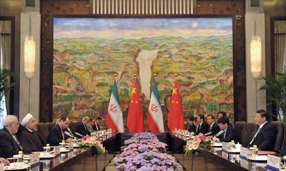Die strategische Partnerschaft zwischen Iran und China fordert das Sanktionsregime der USA heraus