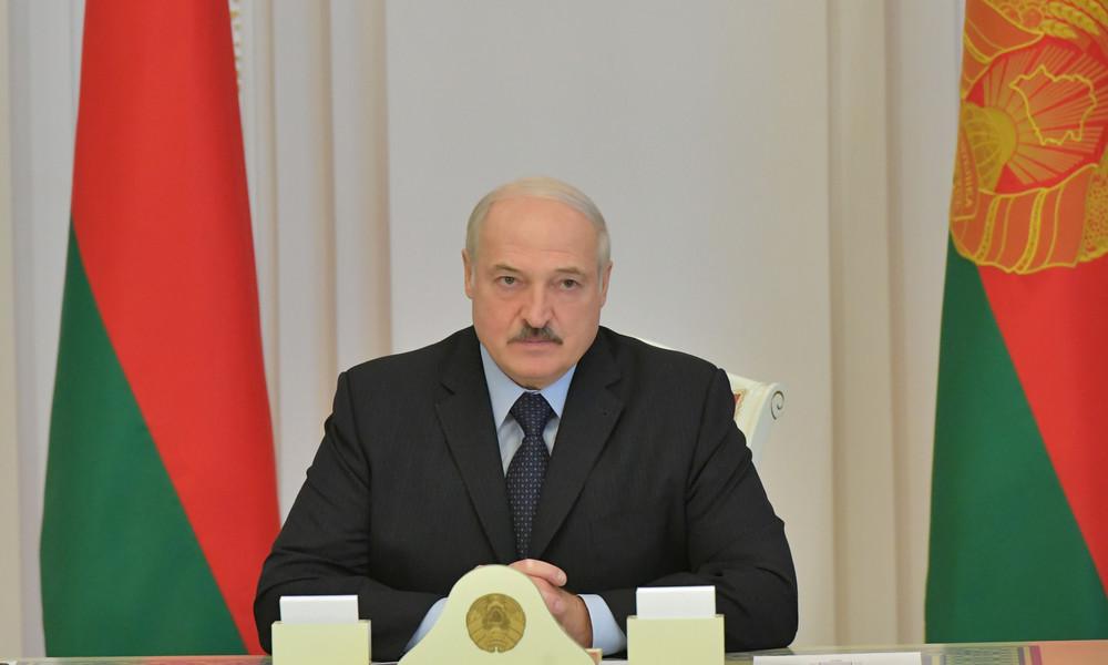 Weißrusslands Präsident Alexander Lukaschenko: Protestler sollen sich Arbeit suchen