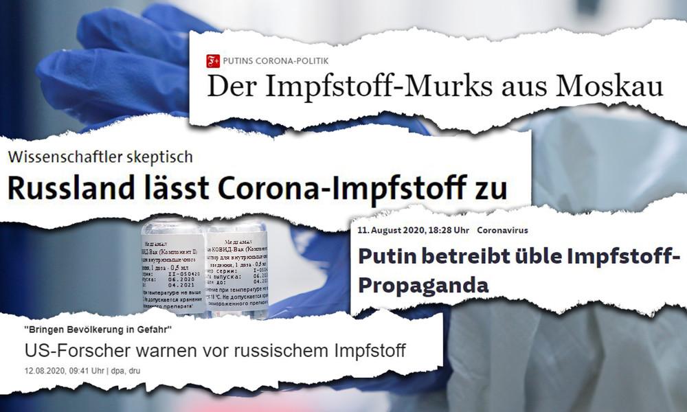 """Faktencheck zur Medienberichterstattung: Hat Russland tatsächlich Corona-Impfstoff """"zugelassen""""?"""