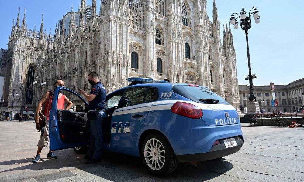 Mailänder Dom: Mann bedroht Wache mit Messer (Video)