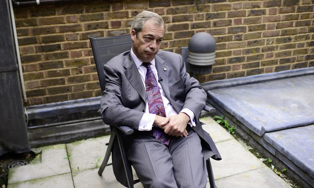 Farage: Großbritannien wird nicht wirklich frei sein, wenn es zum Brexit-Deal kommt