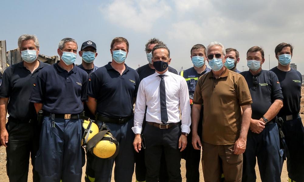 """Außenminister Maas im Libanon: """"Die politische Elite muss umdenken"""""""