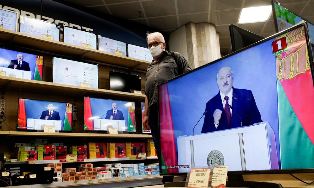 Kündigungswelle in Weißrussland: Mehrere TV-Moderatoren werfen das Handtuch
