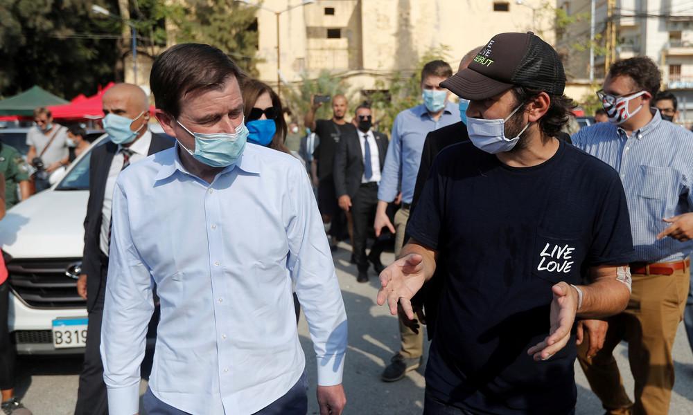 US-Diplomat im Libanon: FBI beteiligt sich an Untersuchung zur Explosionsursache
