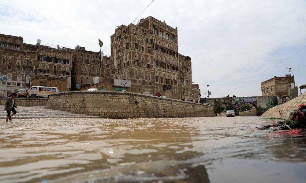 Jemen: Heftige Überschwemmungen mit mehr als 170 Toten und zerstörter Infrastruktur