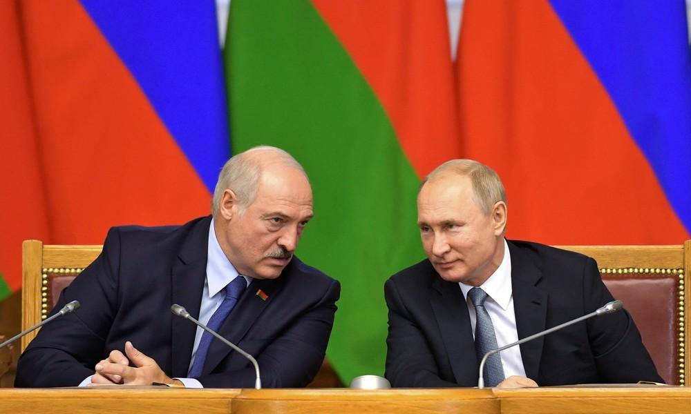 Lukaschenko und Putin besprechen Situation in Weißrussland – Hilfe kommt auf Anfrage