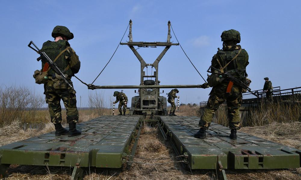 Inmitten der Proteste: Weißrussland führt Militärübungen an Westgrenzen durch