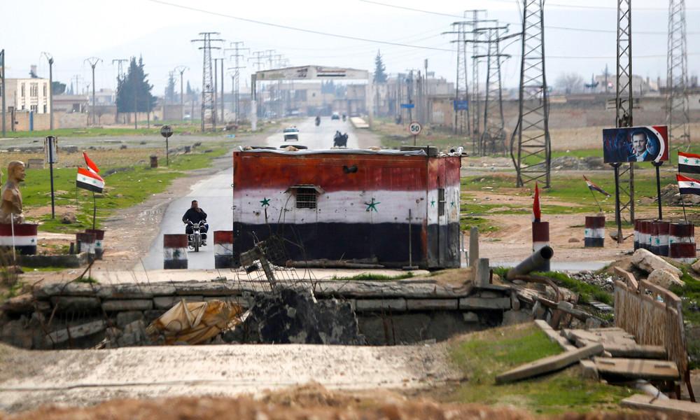 Nachrichtenagentur SANA: Syrischer Soldat bei US-Luftangriff getötet, zwei weitere verwundet